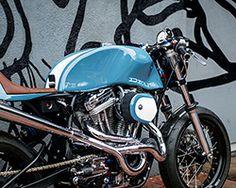 deus harley davidson 'bel air 1200' custom motorcycle