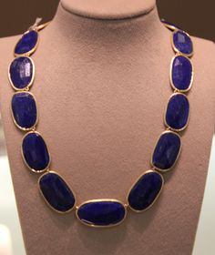 Lapis and Gold Necklace - by Bicego - $9,510