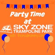 sky zone party birthday parties