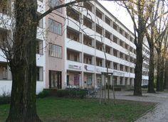 Laubenganghäuser Karl-Marx-Allee Berlin, Germany by Hans Scharoun, Ludmilla Herzenstein