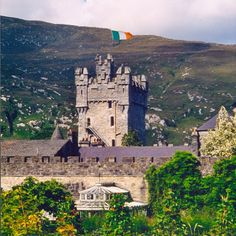 Glenveagh Castle: Many famous visitors. Find out more at www.irelandcalling.ie. Photo copyright - Ian Edwards CC2