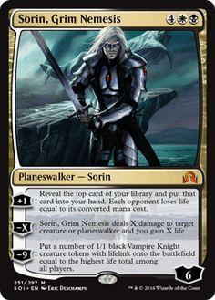 Sorin, Grim Nemesis - Shadows over Innistrad Spoiler