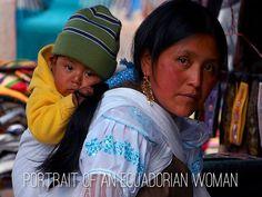 Ecuadorian woman and child
