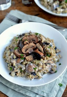 Buckwheat Risotto wi