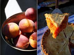 Classic Peach Pie   The Flourishing Foodie