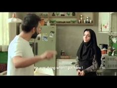 A Separation   Simin wants to leave Iran with her husband Nader and daughter Termeh. Simin sues for divorce when Nader refuses to leave behind his Alzheimer-suffering father. - English subtitles.