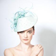 Zala- Feather Percher Hat with Twist