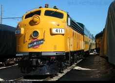 RailPictures.Net Photo: C&NW 411 Chicago & North Western Railroad EMD F7(A) at Union, Illinois by Kevin Andrusia