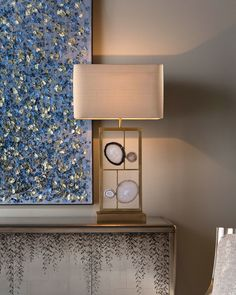 John-Richard Collection Agate Panel Table Lamp - gold http://shopstyle.it/l/k4W