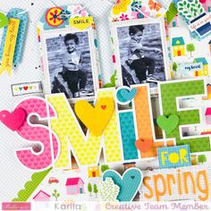 Scrapbooks, Sweet Home, Spring, Creative, Frame, Scrapbook Layouts, Summer, Picture Frame, Summer Time