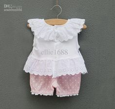 Wholesale Baby Girls clothing sets sleeveless flower clothes+pp pantGirl Baby Dresses 4sets/lot, Free shipping, $8.33/Set | DHgate Mobile Baby Summer Dresses, Baby Girl Dresses, Baby Girls, Little Girl Outfits, Kids Outfits Girls, Toddler Outfits, Cotton Frocks For Kids, Frocks For Girls, Kids Dress Patterns