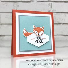Foxy Friends, Truly Tailored Bundle, Stampin' Up!, Brian King