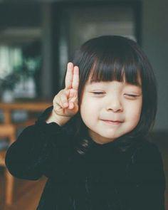 29 Cute Korean Hairstyles For Little Girls Cute Asian Babies, Korean Babies, Asian Kids, Cute Babies, Cute Little Girls, Cute Baby Girl, Cute Kids, Beautiful Children, Beautiful Babies