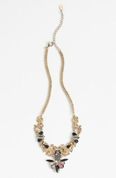 Robert Rose 'Filigree Skull' Statement Necklace available at #Nordstrom
