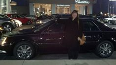 Cindy I am so happy you were able to get your Cadillc DTS.  I also appreciate the nice testimonial letter you wrote.  Enjoy!  WWW.TalkingCarsWithJay.com
