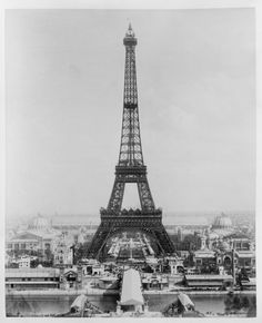 Eiffel Tower Paris Art Deco