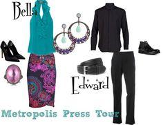 bellaedwardmetropolispresstour, created by tufano79 on Polyvore