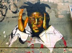 basquiat street art | Hommage  Basquiat