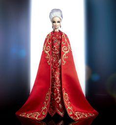 OOAK Scarlet Empress Barbie. Designed by Zlantan Zukanovic. 2014 Italian Doll Convention Charity Auction on eBay May 16, 2014