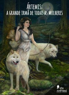 ARTEMIS: The daughter of Leto and Zeus, and the twin of Apollo. Artemis is the goddess of the wilderness, the hunt and wild animals, and fertility. Artemis Goddess, Goddess Art, Moon Goddess, Artemis Art, Earth Goddess, Greek Gods And Goddesses, Greek And Roman Mythology, Fantasy Kunst, Fantasy Art
