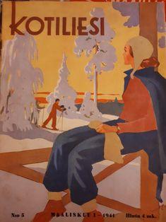 Kotilieden kansi maaliskuu 1941