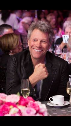 O...M...Gawds this man gets more gorgeous with every year!!  Hawt Jon Bon Jovi!!