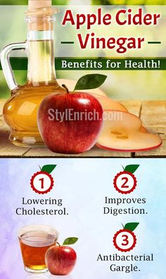 Apple Cider Vinegar Benefits For Your Overall Health