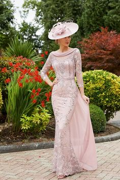 991734 Veni Infantino Mother of the Bride 991734 - Ronald Joyce International Mother Of The Bride Fashion, Mother Of Bride Outfits, Designer Wedding Dresses, Wedding Gowns, Evening Dresses, Formal Dresses, Bride Dresses, Floaty Dress, Short Gowns