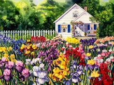 Cottage_Irises72 (35 pieces)