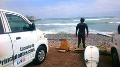 Surf de tarde y con sol que mass! A..  el mar está mejorando :) - http://ift.tt/1K8gmug