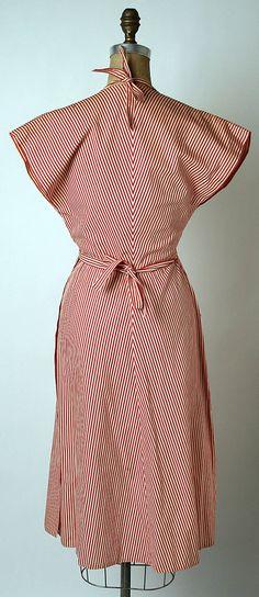 Claire Mc Cardell. 1943 ~cotton
