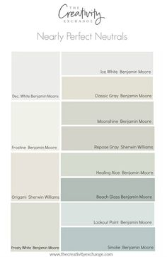 No color is perfect but there are many nearly perfect neutral paint colors that…