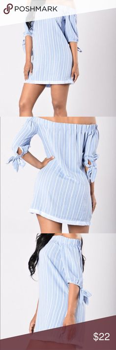 Selling this Kinzie Dress (Blue) on Poshmark! My username is: cortesia. #shopmycloset #poshmark #fashion #shopping #style #forsale #Fashion Nova #Dresses & Skirts
