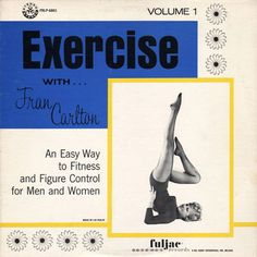 WORK IT GIRL // vintage exercise albums