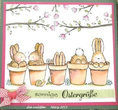 Discover recipes, home ideas, style inspiration and other ideas to try. Penny Black Karten, Penny Black Cards, Penny Black Stamps, Happy Easter Quotes, Easter Bunny Pictures, Easter Drawings, Card Drawing, Bunny Art, Easter Art