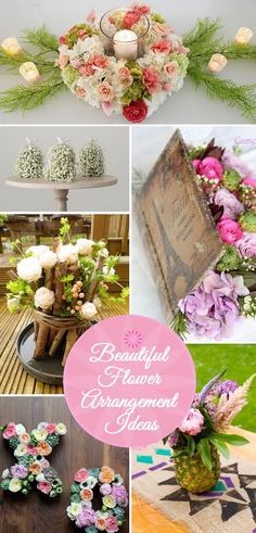 Beautiful Flower Arrangement Ideas.