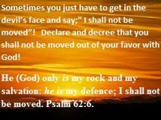 I DECLARE AND DECREE IN JESUS NAME SO BE IT!