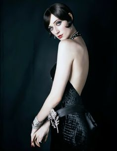 The Age of Art Fashion and Jewelry   #vintagemaya #the great Gatsby #vintage style hairstyle #gatsby style unrestricted clothing #vintage dropped waistline