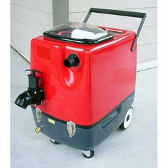 Clean Storm 3gal 150psi HEATED 2 Stage Vac Indy Automotive Extractor w/ Hose Set & Detail Wand.