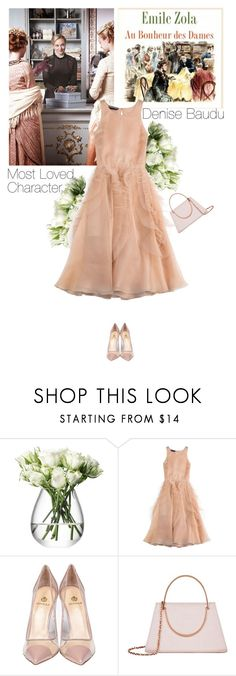 """""""most loved character - Denise Baudu"""" by helena99 ❤ liked on Polyvore featuring LSA International, Rochas, Semilla, Ted Baker, vintage, VintageInspired, tedbaker, rochas and MostLovedCharacter"""