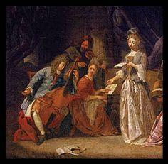 Jacob Toorenvliet, Musical Company, c.1670-80.