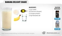 Banana Delight Shake