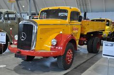 """Mercedes Benz 315 LAK Truck - Twitter / Daimler_CV: Back to the 50´s with """"Grandpa"""" ..."""