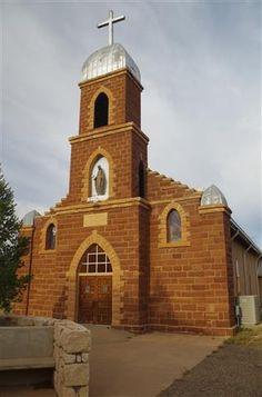Nuestra Señora del Refugio church, Puerto de Luna, NM