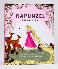 Rupunzel by Sarah Gibb, such beautiful illustrations