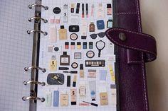 Make Up  Sticker  Filofax KIKKI.K Erin Condren Life Planner Supplies Decoration Scrapbook DIY   Stickers