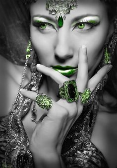Emeralds....