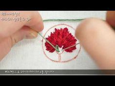 Hand Embroidery Flowers, Learn Embroidery, Ribbon Embroidery, Embroidery Stitches Tutorial, Leather Art, Jewelry Crafts, Cross Stitch Patterns, Quilts, Sewing