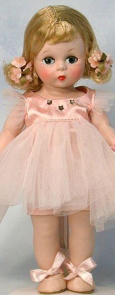 Vintage Madame Alexander Ballerina doll, 1953.