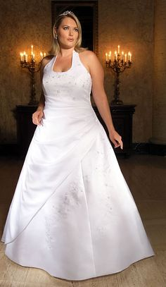 Fashion Trend Design - Plus-size-Wedding-Dress #wedding